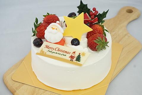 静岡県菊川市『Bake and Cake ぱふ』クリスマスケーキ