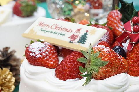 静岡県菊川市パンと洋菓子のお店『Bake and Cake ぱふ』クリスマスケーキ